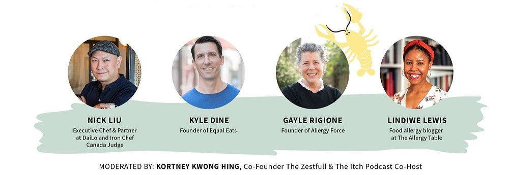 banner-announces-panel-discussion-should-restaurants=cater-to-people-with-food-allergies