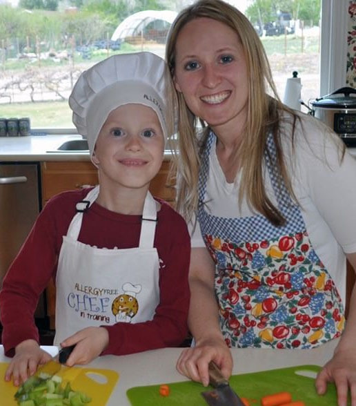 tiffany-rogers-founder-chef-free-club-with-son