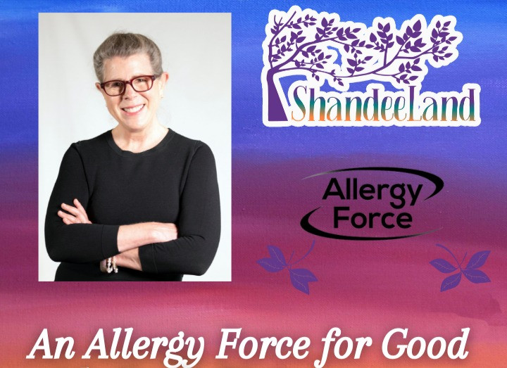 promo-image-for-shandeeland-podcast-featuring-allergy-force-ceo-gayle-rigione