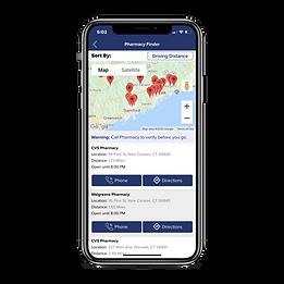 allergy-force-app-pharmacy-finder-screen