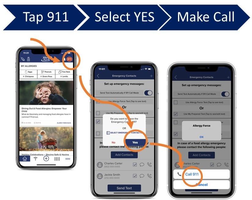 screenshots-allergy-force-app-show-911-call-process