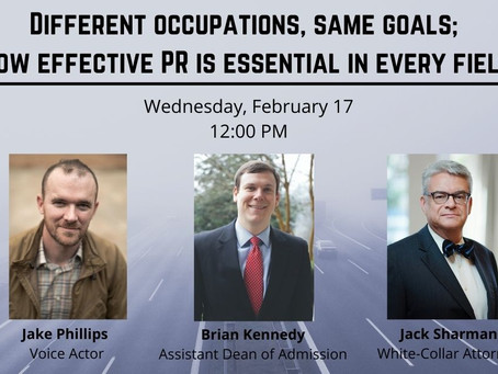 Different Occupations, Same Goals; How Effective PR is Essential in Every Field
