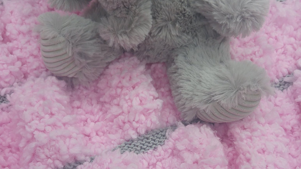 Heavenly Rouched Baby Blanket Kit