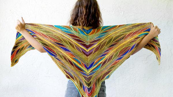 Papillon Shawl Kit