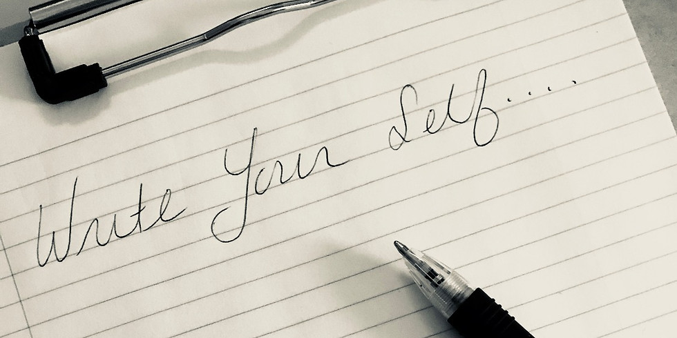 Write Your Self April 14 at 10am