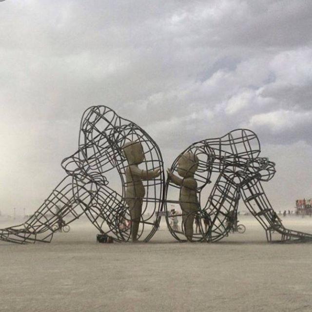 Artist: Alexander Milov, Burning Man