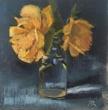 Fresh Garden Roses