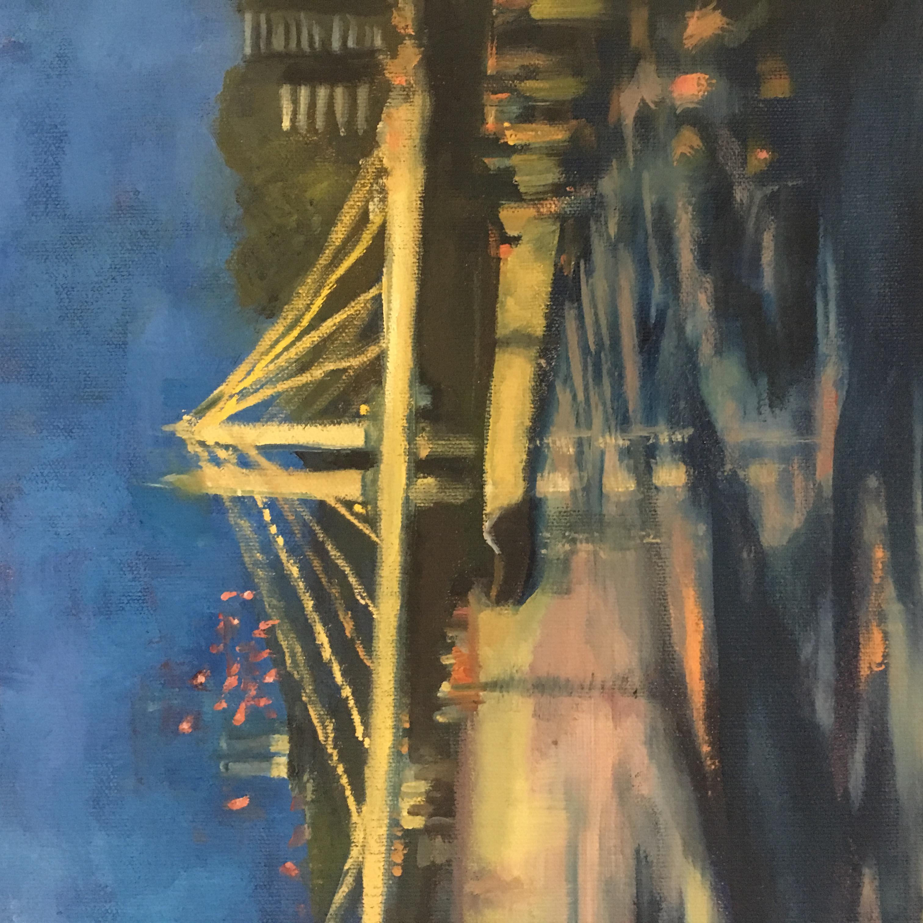 Albert Bridge at Dusk