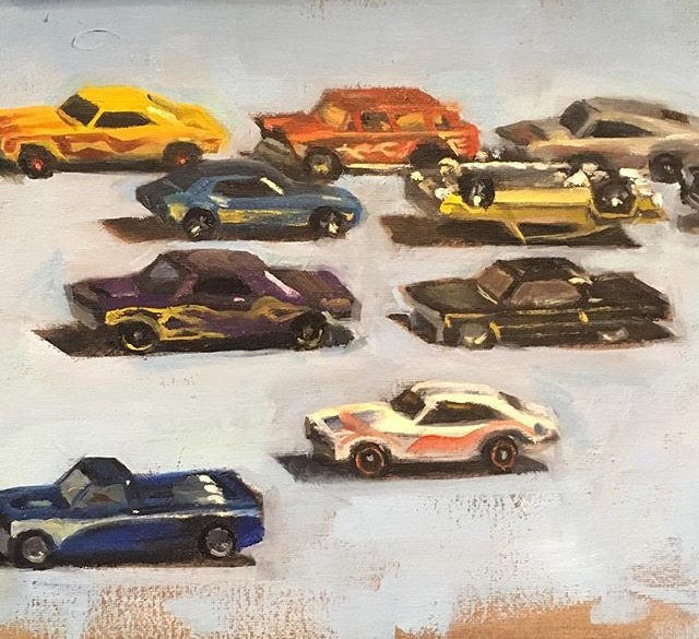 Hotwheel car line up