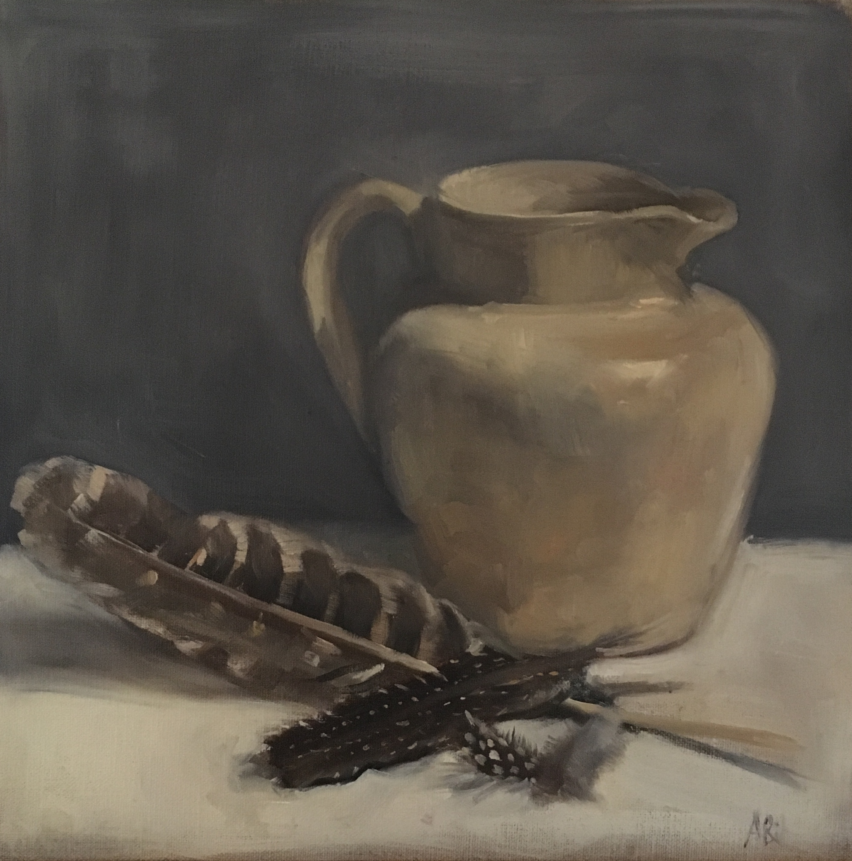 Large Cream Jug with Feathers.jpg