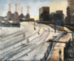 Tracks in the Snow by Battersea Power St