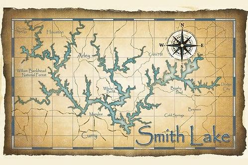 Antique Map Print