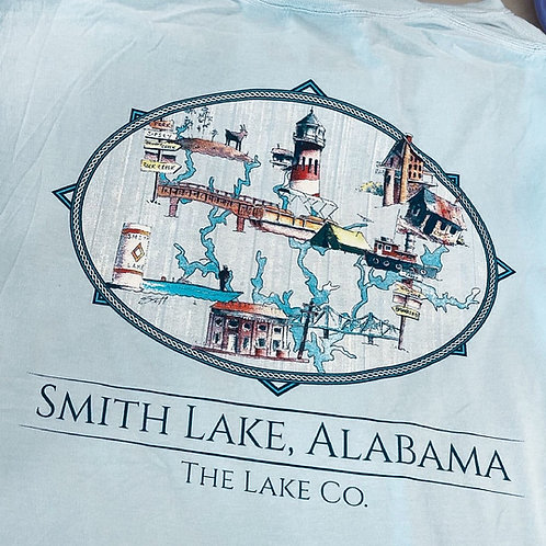 Chambray Smith Lake Locations - artwork by Scottercolors
