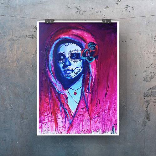 """Con Migo 12""""x18"""" Poster Print"""