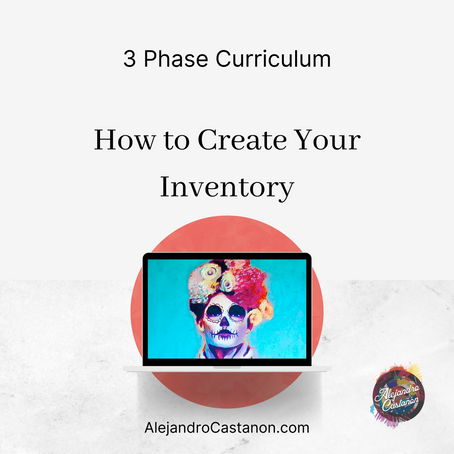 Phase One: How to Create Your Art Inventory