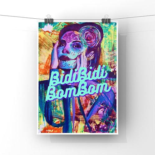 "Bidi bidi 12""x18"" Poster Print"