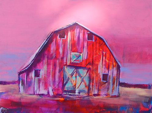 Born in a Barn Prints