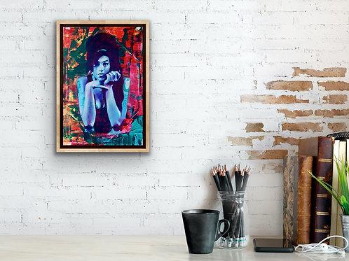 "Amy Winehouse 12""x18"" Poster Print"