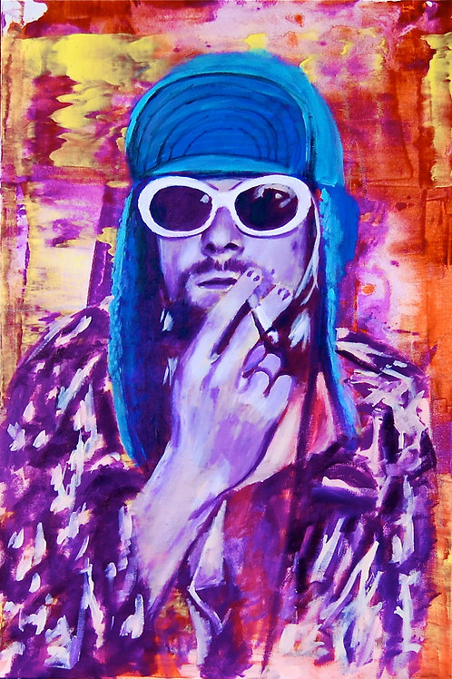Kurt Cobain Prints