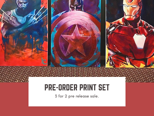 Marvel set