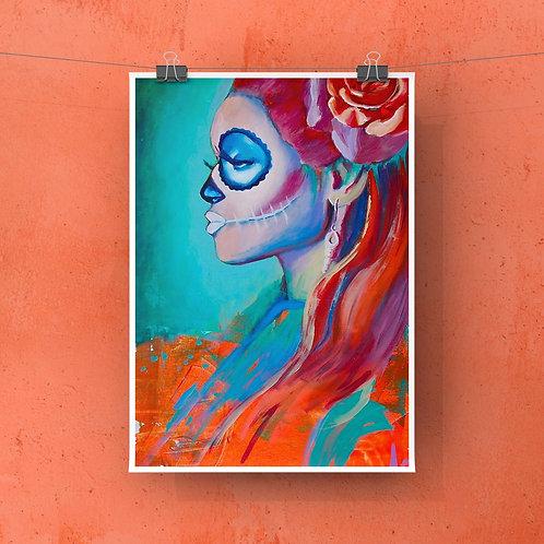 "Esperando 12""x18"" Poster Print"