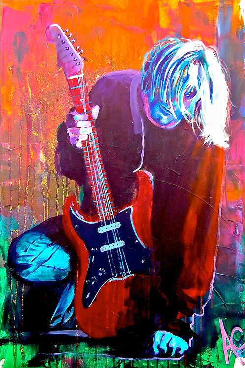 "Kurt Cobain 12""x18"" Post"