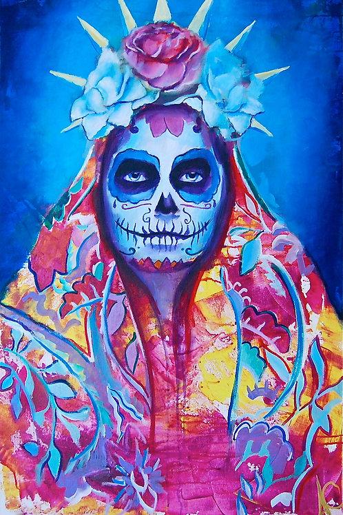 "La Madre 12""x18"" Poster Print"