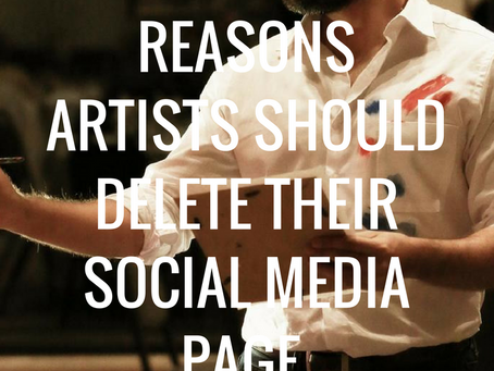 5 Reasons Artists Should Delete Their Social Media Page