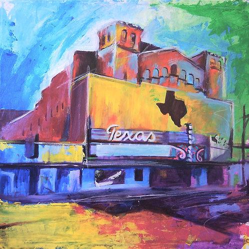 Texas Theater Canvas Print