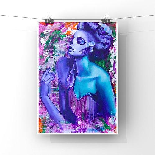 """Cascade 12""""x18"""" Poster Print"""