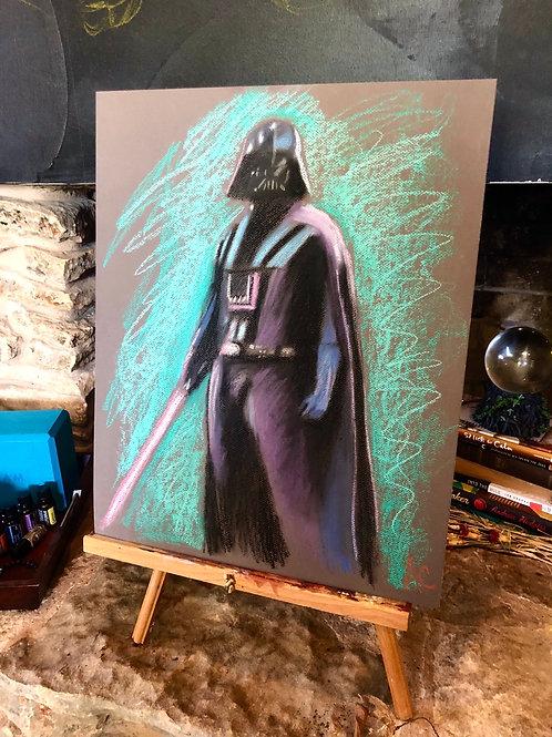 Darth Vader Pastel