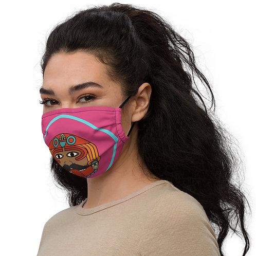 Aztexican Face Mask by Alejandro Fine Art