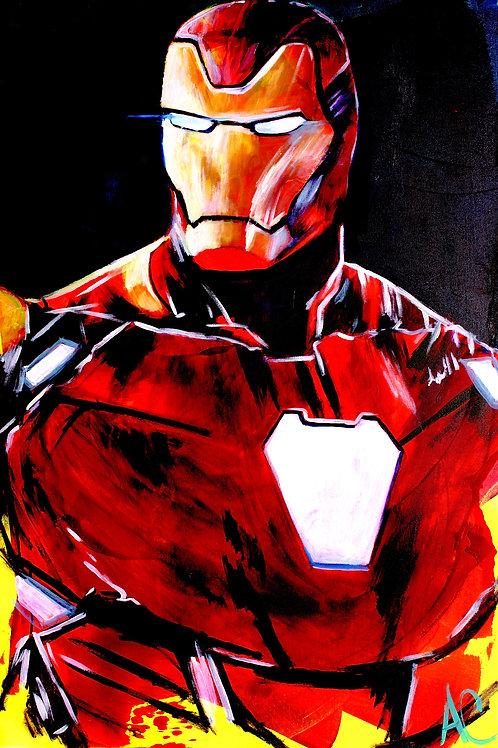"Iron Man 12""x18"" Poster Print"