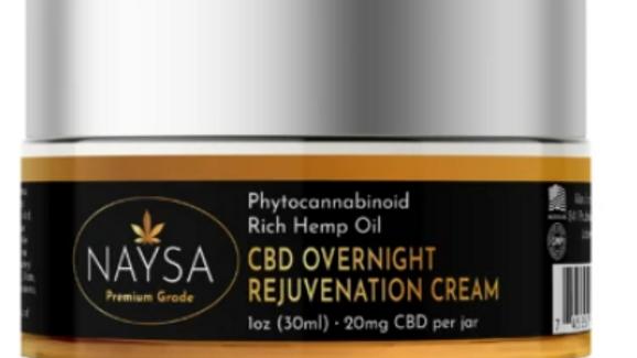 Naysa CBD Overnight Rejuvenation Cream