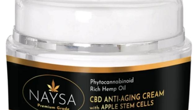 Naysa CBD Anti-Aging Cream w/Apple Stem Cells