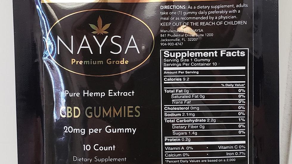 Naysa Gummies 10 Count