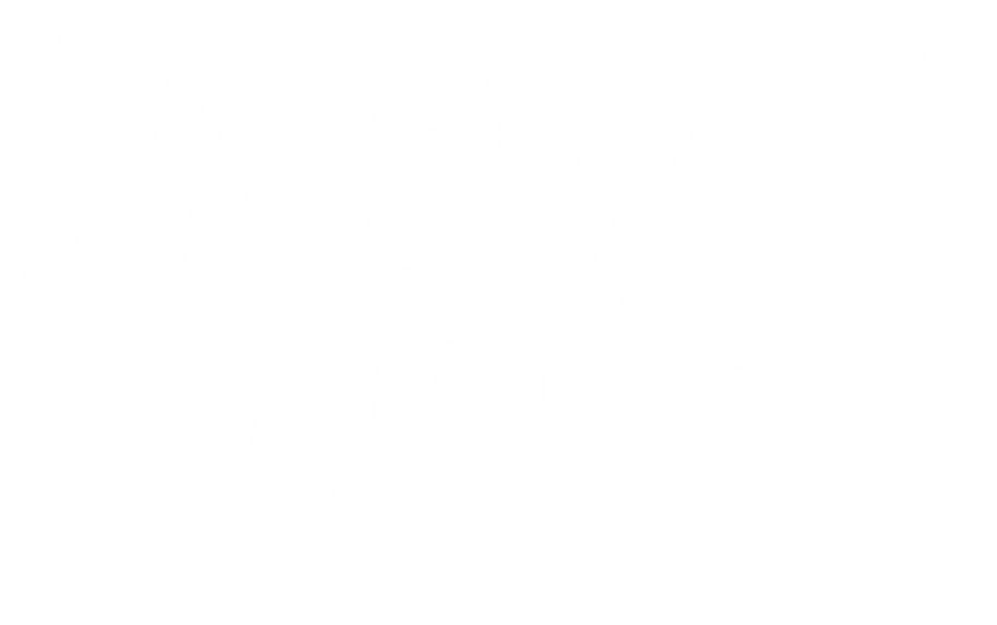 iStock-1076652904 -White US Map Outline-