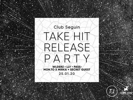 Take Hit release party w/ Wlderz, LLY, Pass-, Mon.to x Mirka