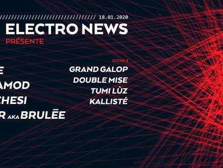 Electro News fête ses 10 ans au club