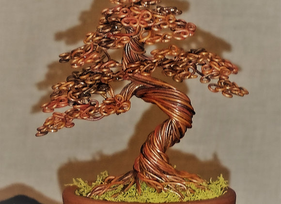 #170 Annealed copper tree