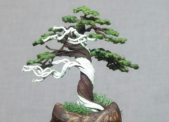 Cloth-wrapped Wire Tree Sculpture By Rick Skursky Sorry SOLD