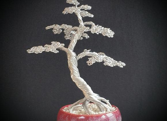 #84 Mig Welded Wire Tree Sculpture