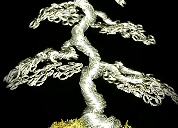 #100 Twisted Trunk Wire Tree