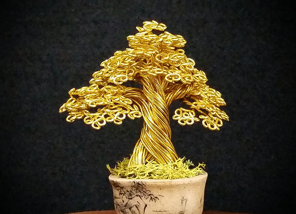 #134 Marufuji Wire Tree Sculpture
