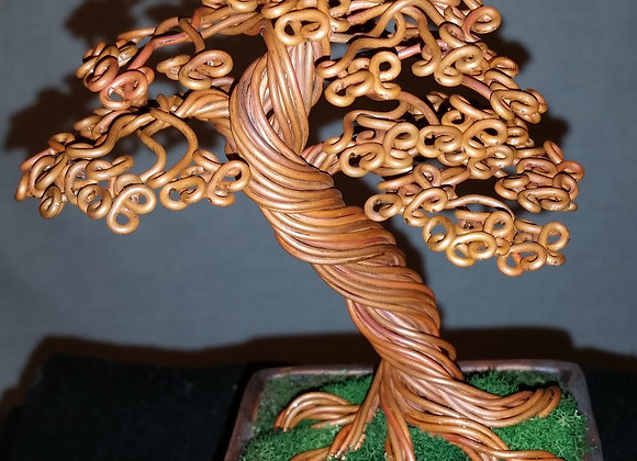 Wire Tree #175 By Rick Skursky