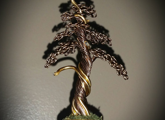 #120 Tiny Little Jin Tree Sculpture