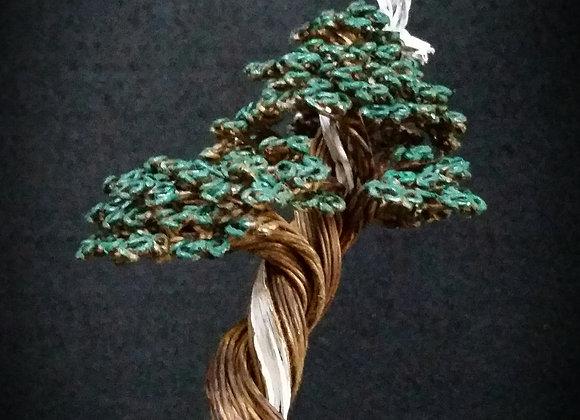 #132 Shimpaku Wire Tree Sculpture