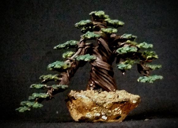 #157 Semi-cascade Wire Tree Sculpture