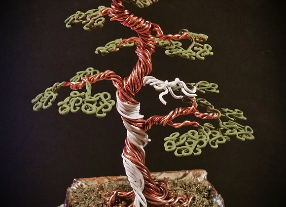#102 Traditional Inspired Wire Bonsai Sculpture