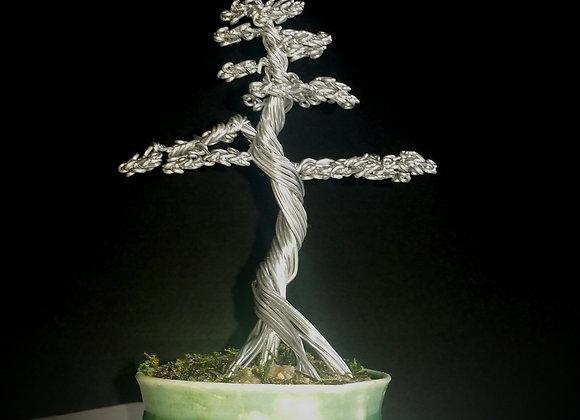 #72 Mig Wire Tree Sculpture